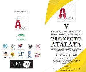 "Seminario ""Comunicación, Marketing Cultural e Industrias Culturales "" en Baeza"