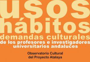Usos, Hábitos y Demandas Culturales del PDI de las UU. AA.
